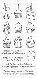 My Favorite Things - Clear Stamp - All the Cupcakes