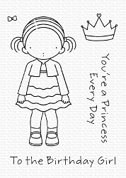 My Favorite Things - Clear Stamp - PI Birthday Girl