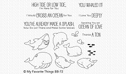 My Favorite Things - Clear Stamp - BB Friends with Fins