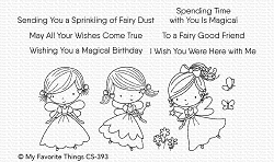My Favorite Things - Clear Stamp - Fairy Good Friends