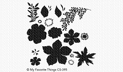My Favorite Things - Clear Stamp - Tropical Flowers