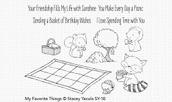 My Favorite Things - Clear Stamp - SY Picnic Pals
