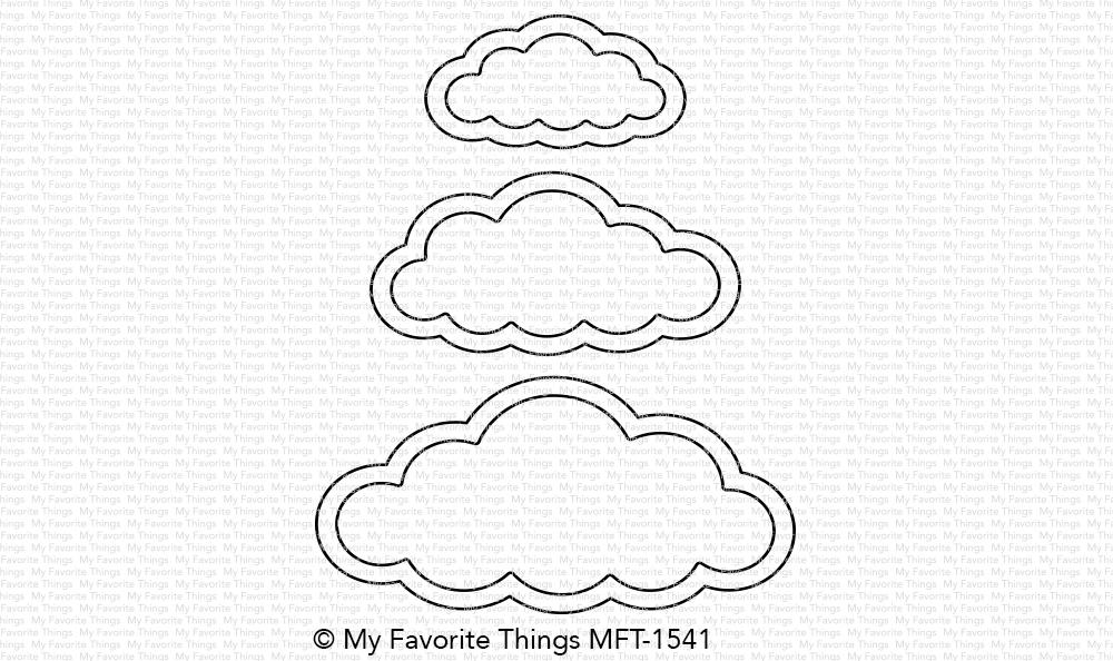 My Favorite Things Die Namics Cute Cloud Outlines Cloud outliner is designed to make outlines even better. my favorite things die namics cute cloud outlines