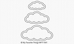 My Favorite Things - Die-namics - Cute Cloud Outlines