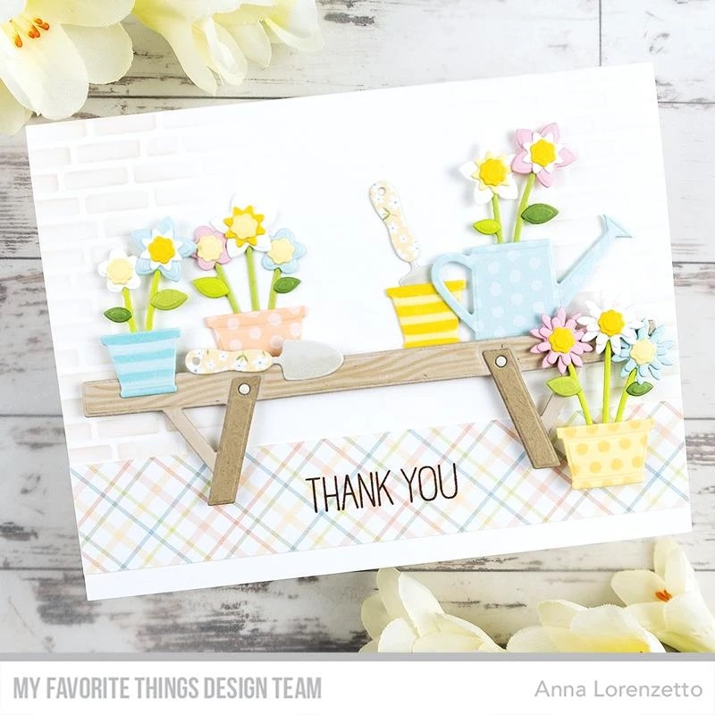 My Favorite Things - Die-namics - Spring Garden