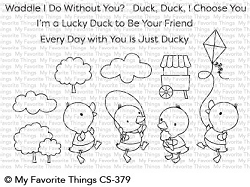 My Favorite Things - Clear Stamp - Just Ducky