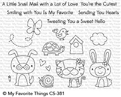 My Favorite Things - Clear Stamp - Cute Critters
