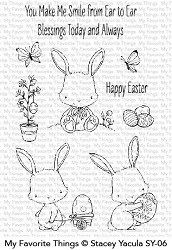 My Favorite Things - Clear Stamp - SY Easter Bunnies
