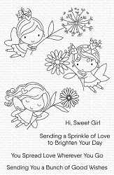 My Favorite Things - Clear Stamp - Flower Fairies