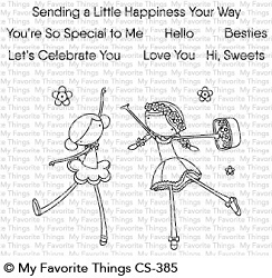 My Favorite Things - Clear Stamp - Sweet Besties