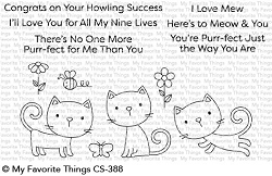 My Favorite Things - Clear Stamp - Purr-fect