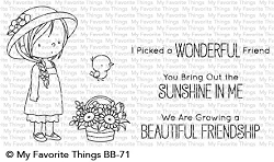My Favorite Things - Clear Stamp - BB Bring Out The Sunshine