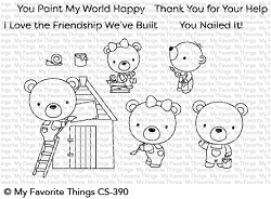 My Favorite Things - Clear Stamp - Builder Bears