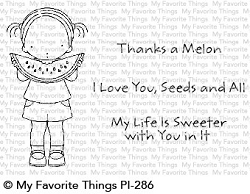 My Favorite Things - Clear Stamp - Pure Innocence Sweet Summertime