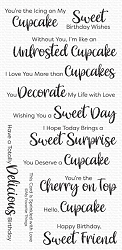 My Favorite Things - Clear Stamp - Sugar-Coated Sentiments