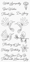 My Favorite Things - Clear Stamp - Happy Hummingbirds