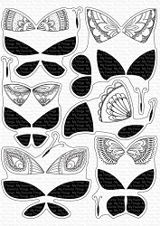 My Favorite Things - Clear Stamp - Brilliant Butterflies