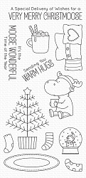 My Favorite Things - Clear Stamp - BB Merry Christmoose