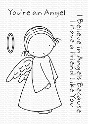 My Favorite Things - Clear Stamp - Pure Innocence Angel