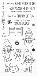 My Favorite Things - Clear Stamp - BB Snow Buddies