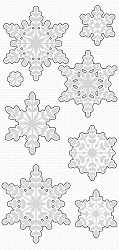 My Favorite Things - Die-namics - Serene Snowflakes