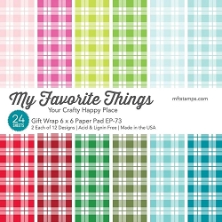 My Favorite Things - Gift Wrap 6x6 paper pad