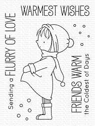 My Favorite Things - Clear Stamp - BB Warmest Wishes