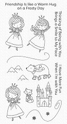 My Favorite Things - Clear Stamp - Ice Princess and Friends