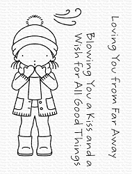 My Favorite Things - Clear Stamp - Pure Innocense Winter Kisses