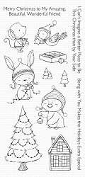 My Favorite Things - Clear Stamp - SY Merry Wishes