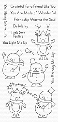 My Favorite Things - Clear Stamp - Festive Friends