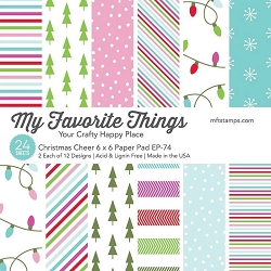 My Favorite Things - Christmas Cheer 6x6 paper pad