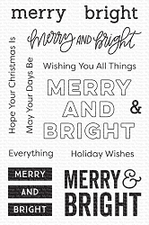 My Favorite Things - Clear Stamp - Merry & Bright
