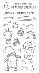 My Favorite Things - Clear Stamp - Warm Hugs and Frosty Kisses