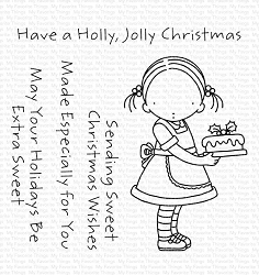 My Favorite Things - Clear Stamp - Pure Innocence Sweet Christmas Wishes