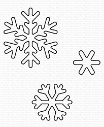 My Favorite Things - Die-namics - Sweet Snowflakes