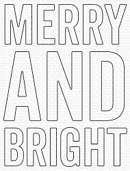 My Favorite Things - Die-namics - Very Merry and Bright