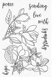 My Favorite Things - Clear Stamp - Floral Focus