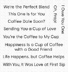 My Favorite Things - Clear Stamp - Cup of Love