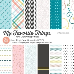 My Favorite Things - Road Trippin' 6x6 paper pad