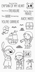 My Favorite Things - Clear Stamp - BB Party like a Pirate