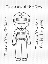 My Favorite Things - Clear Stamp - Pure Innocence Thank You, Officer