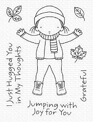My Favorite Things - Clear Stamp - Pure Innocence Jumping with Joy