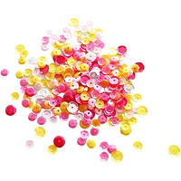 Neat & Tangled - Sequins - Pink Lemonade Mix (4-6-8mm)