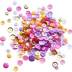 Neat & Tangled - Sequins - Wild Orchid Mix (4-6-8mm)