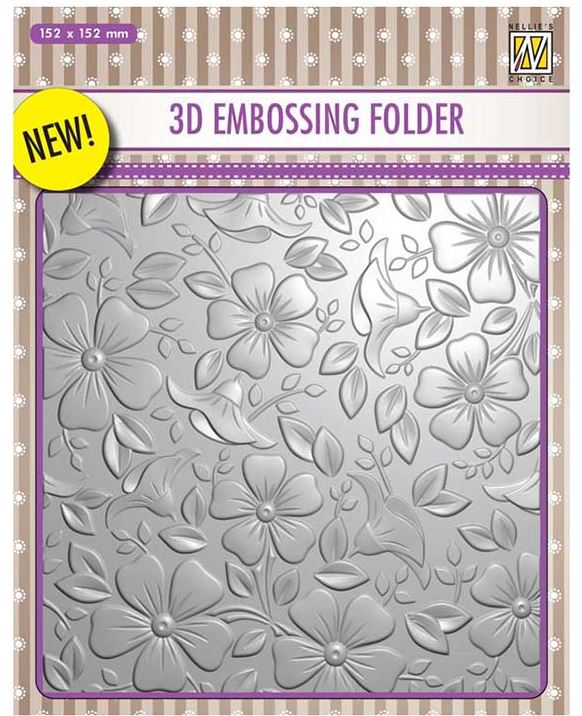 Nellie's Choice - 3D Embossing Folders