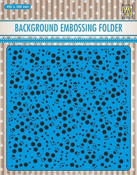 "Nellie/'s Choice 3D Embossing Folder 5 7//8/"" x 5 7//8/"" ~ WREATH Christmas ~EF3D007"