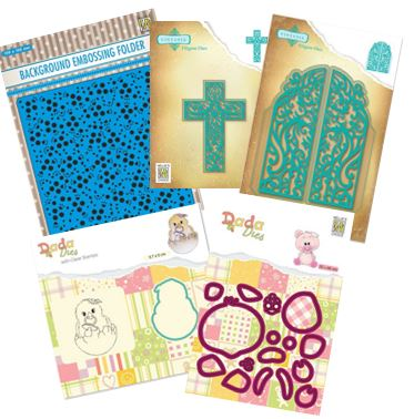 Nellie's Choice - New dies & Embossing Folders
