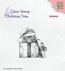 Nellie Snellen's - Clear Stamp - Christmas Time Christmas Surprise