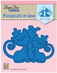 Nellie Snellen's - Shape Die - Pussycats in Love